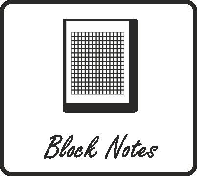 Realizzazione Block notes